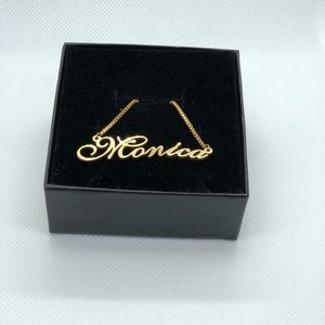 Jewelry - 14K Gold Plated Necklace - Monica